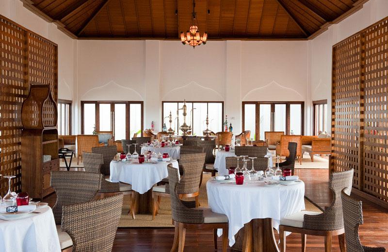 The Pavilion Restaurant Interior