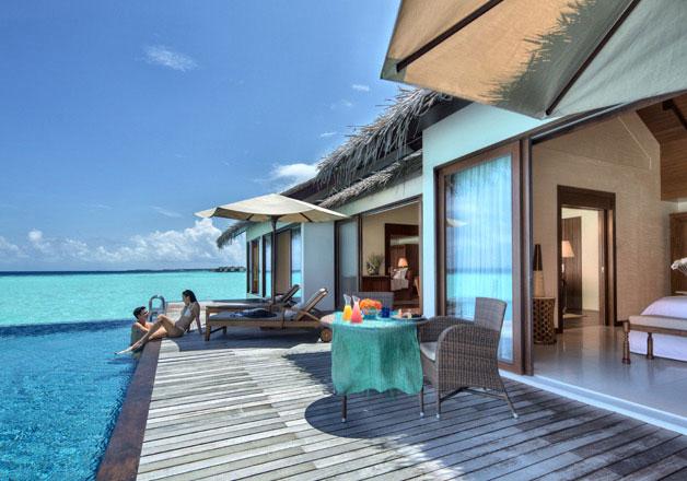 Maldives Accommodation Water Pool Villa The Residence Maldives