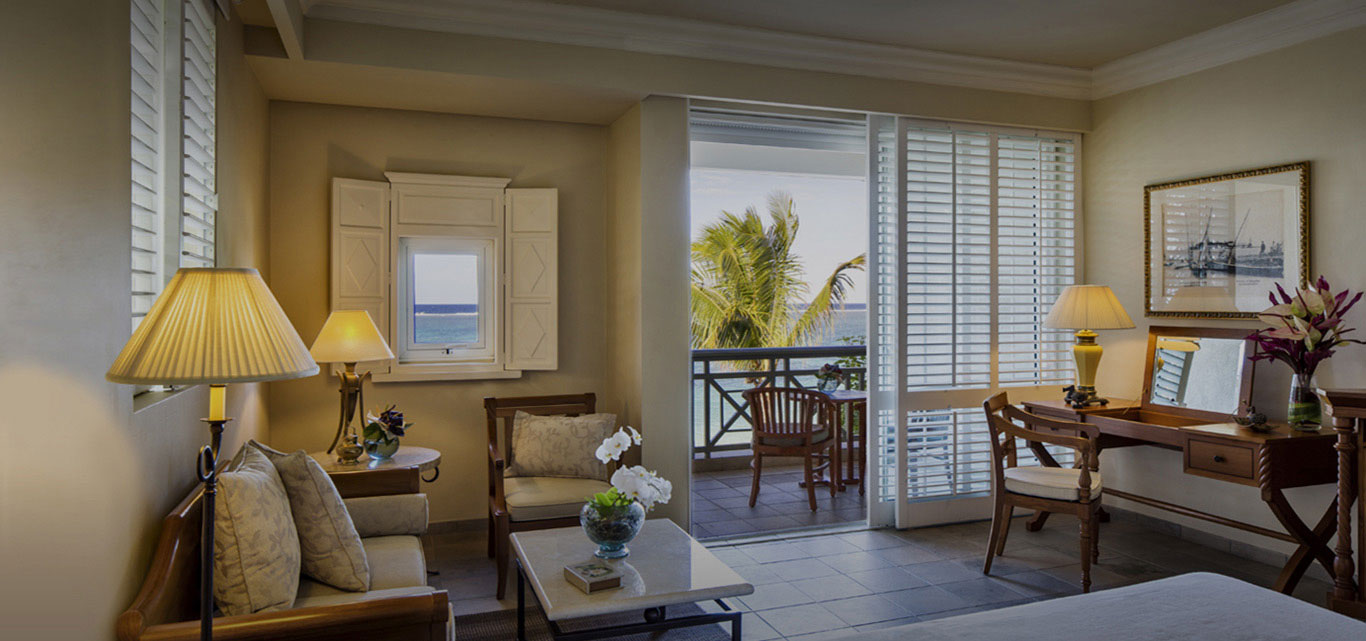 Mauritius Accommodation Colonial Ocean Front Rooms The