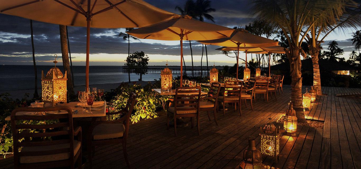 Zanzibar Hotel Dining